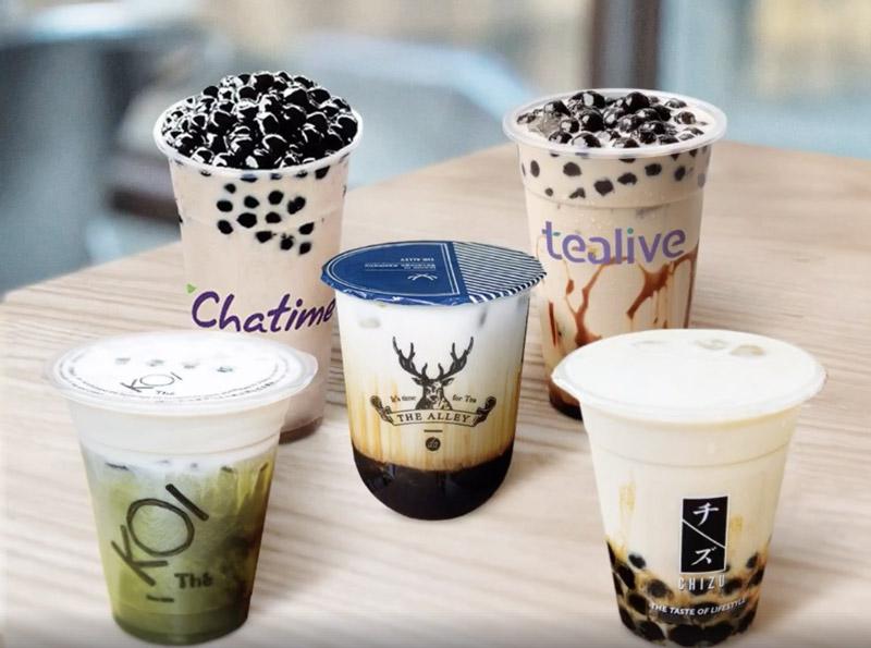 Các thương hiệu trà sữa nổi tiếng và cách đặt tên thu hút nhất 2021
