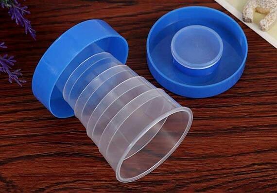 Ly nhựa gấp gọn bỏ túi